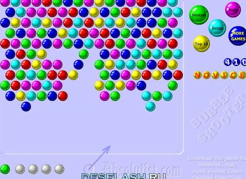 Флеш шарики онлайн играть бесплатно стрелка внизу будет показывать