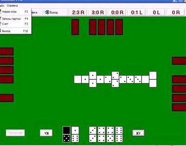 Игра домино козел играть с компьютером