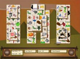 Игра маджонг логические солитер