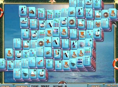 Игра морской маджонг онлайн бесплатно полностью расчистить поле от