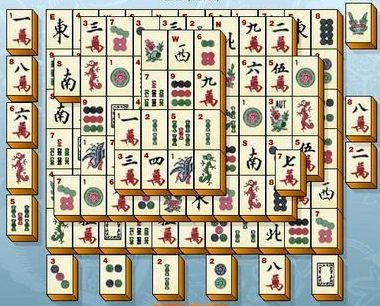 Игра пасьянс китайский маджонг