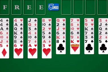 Игра пасьянс солитер играть бесплатно 4 масти
