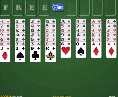 Игра пасьянс солитер играть бесплатно онлайн