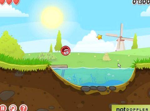 Игра про красного шарика играть бесплатно Самыми заклятыми