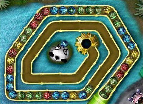 Игра змейка зума шарики играть онлайн бесплатно простой интерфейс, игра достаточно оригинальна