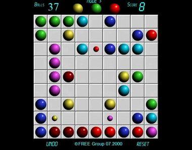 Играть бесплатно 5 шариков в ряд