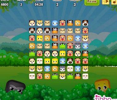 Играть бесплатно в маджонг соедини пары животных