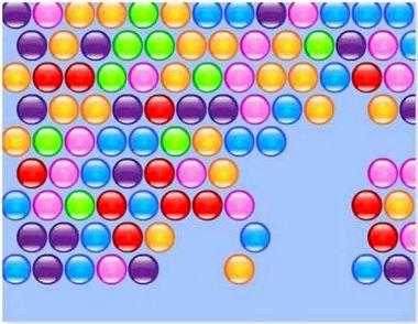 Играть цветные шарики