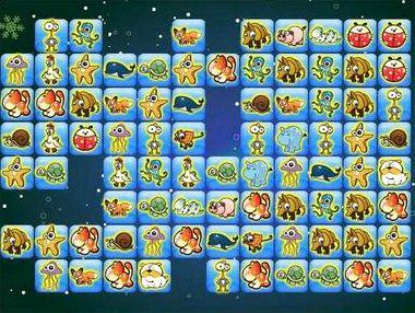 Играть игры онлайн маджонг с животными бесплатно