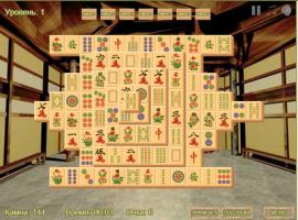 Играть онлайн мастер маджонга