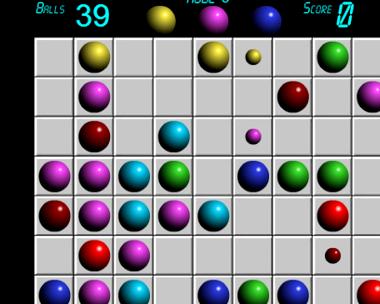 Играть онлайн шарики линии 98