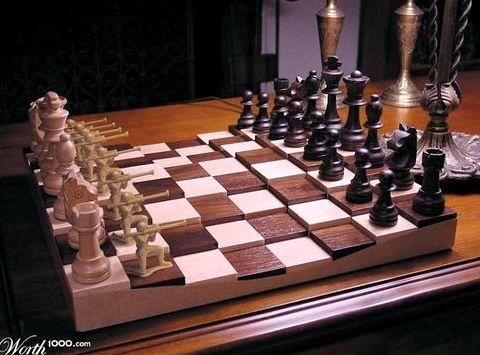 Играть шахматы со всего мира от компьютера до интернет пользователей