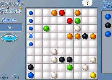 Играть шарики 5 в линию логические игры
