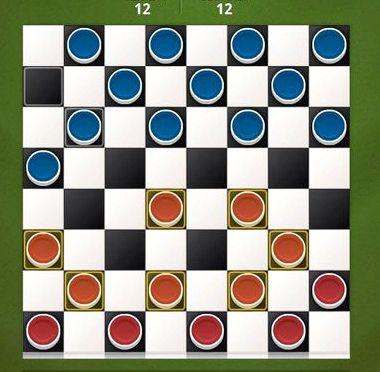 Играть шашки онлайн бесплатно с реальным соперником