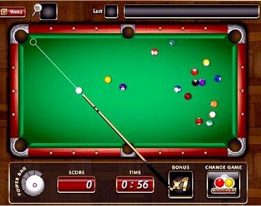 Играть в профессиональный бильярд онлайн бесплатно