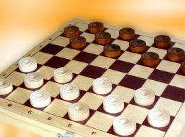 Играть в шашки на двоих
