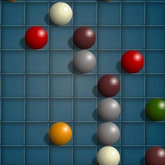 Игры математические линии шарики