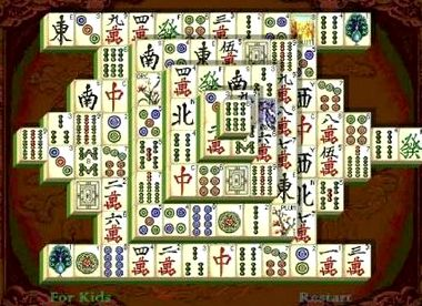 Игры онлайн бесплатно маджонг китайский пасьянс