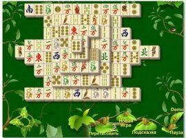 Игры онлайн бесплатно маджонг сады