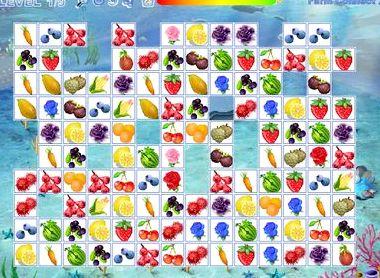 Игры онлайн маджонг овощи и фрукты