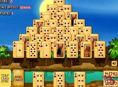 Игры пасьянс пирамида египет