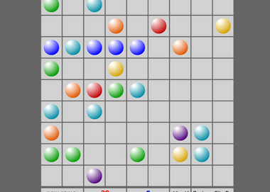 Игры шарики линии смешарики