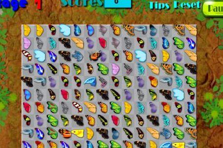 Игры спанч маджонг бабочки одна из самых