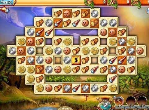 Игры три в ряд играть бесплатно маджонг Сокровище рыцаря Жил-был на