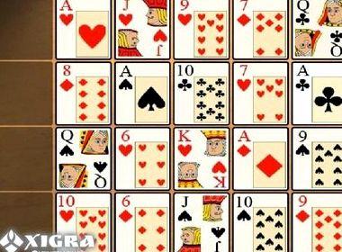 Игры в карты пасьянс коврик