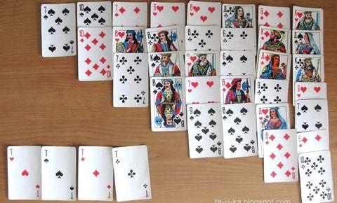 Карточные игры пасьянсы играть цыганам, попали