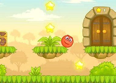 Красный шарик игра онлайн