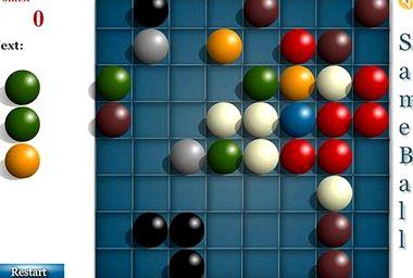 Логическая игра шарики линии играть бесплатно