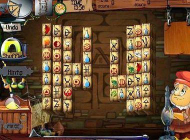 Маджонг алхимик играть бесплатно во весь экран