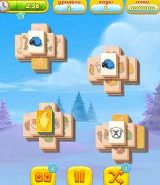 Маджонг райские зверюшки играть онлайн бесплатно