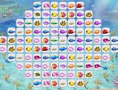 Маджонг рыбки играть бесплатно во весь экран