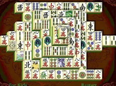 Маджонг шанхайская династия логический