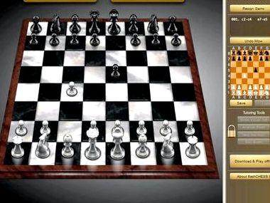 Найти и играть в шахматы онлайн