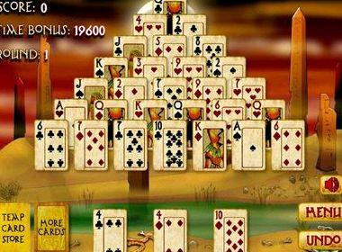 Пасьянс египетская пирамида играть бесплатно онлайн