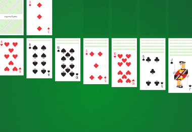 Пасьянс косынка по 2 карты играть бесплатно