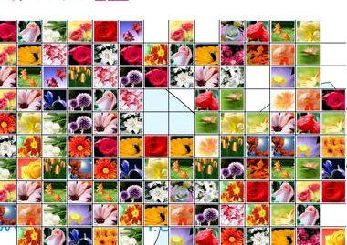 Пасьянс маджонг цветы
