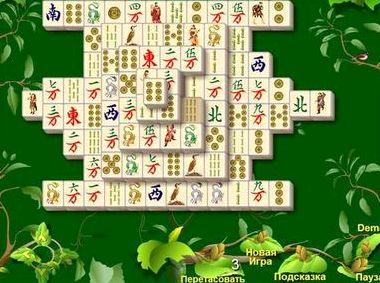 Пасьянс маджонг игры нового поколения