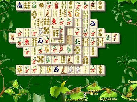 Пасьянс маджонг игры нового поколения процессе прохождения