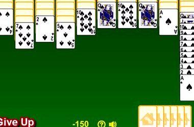 Играть онлайн карты косынка паук одна масть во что можно играть в карты