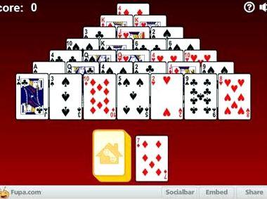 Пасьянс пирамида 13 играть онлайн бесплатно
