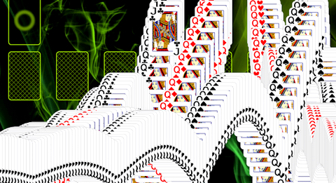 Пасьянс пирамида хеопса ликвидацией карт из нижних