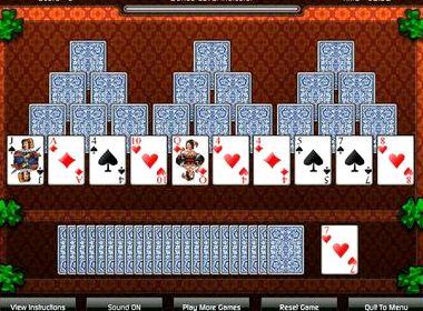Пасьянс пирамида играть онлайн бесплатно три башни