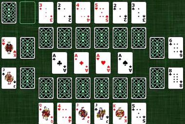 Пасьянс замок играть онлайн