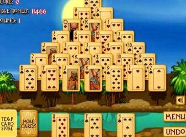 Пирамида аркадиум пасьянс