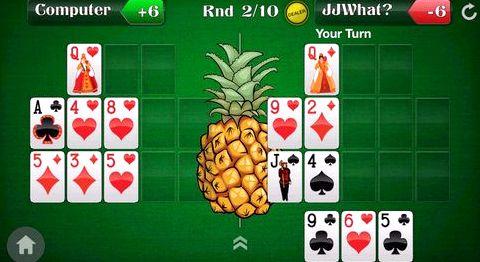 Покер ананас играть онлайн Они раскладывают