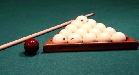 Правила игры в бильярд русская пирамида угловые лузы